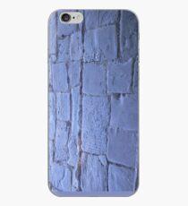Blue path iPhone Case