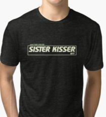 Sister Kisser Tri-blend T-Shirt