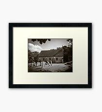St Mary Vernham Dean Framed Print