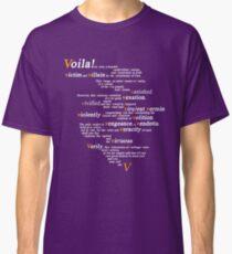 V For Vendetta - You Can Call Me V Classic T-Shirt