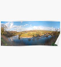 Ruskins View (Panorama) Poster