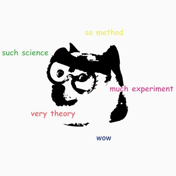 Science Doge So Clothes Wow by W4rnings