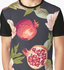 Chalkboard Flowers Graphic T-Shirt