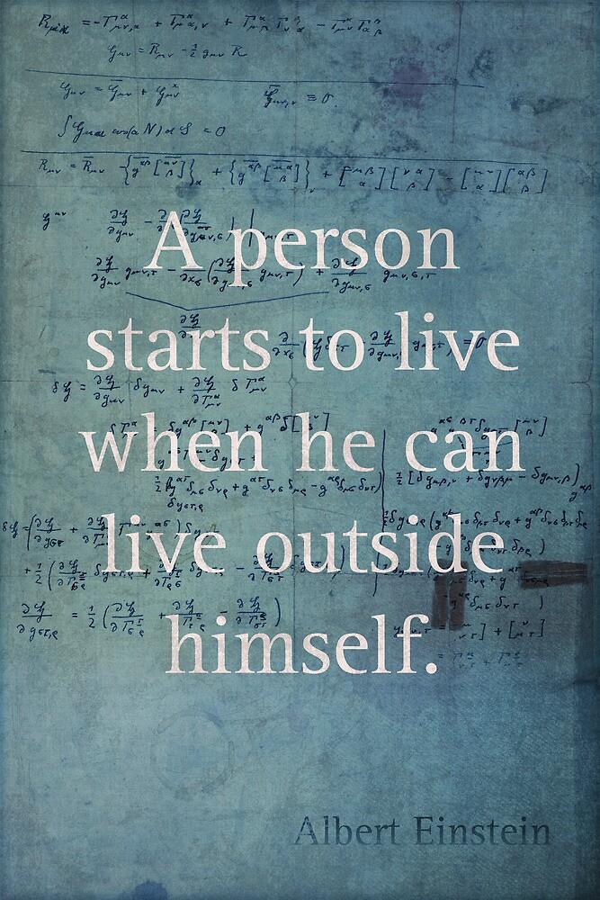 Einstein Quote 2 by scienceispun