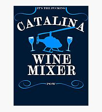 The Catalina Wine Mixer Photographic Print