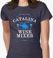 The Catalina Wine Mixer Women's Fitted T-Shirt
