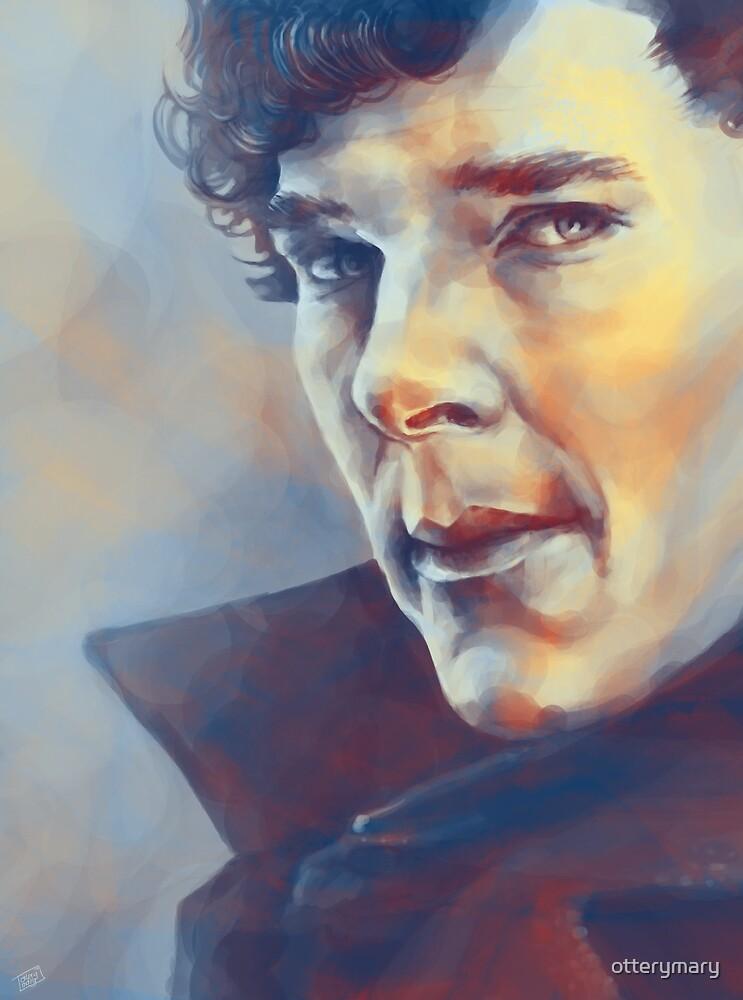 Sherlock Holmes by otterymary
