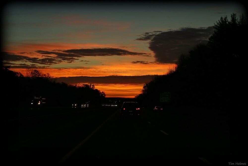 Dawning Roadtrip by Tim Holmes