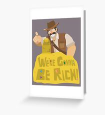 Hearthstone - Reno Jackson Greeting Card