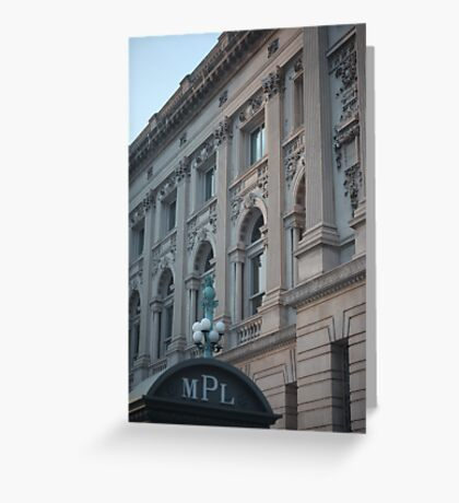Milwaukee Public Library Greeting Card