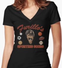 Furillo's Sporting Goods Women's Fitted V-Neck T-Shirt
