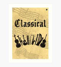 Classical Art Print