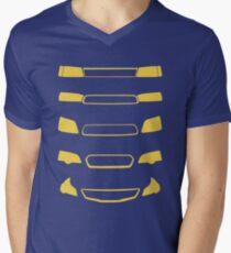 Subaru Legacy Generations Men's V-Neck T-Shirt