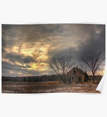 Lonely House-Landscape Poster