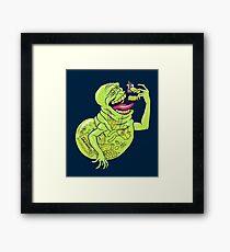 Ugly Little Spud Framed Print