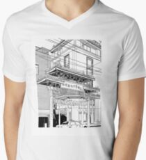 Nagasaki - China Town Mens V-Neck T-Shirt