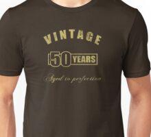 Vintage 50th Birthday T-Shirt Unisex T-Shirt