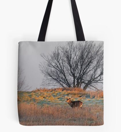 Painted Hill - White-tailed deer Tote Bag