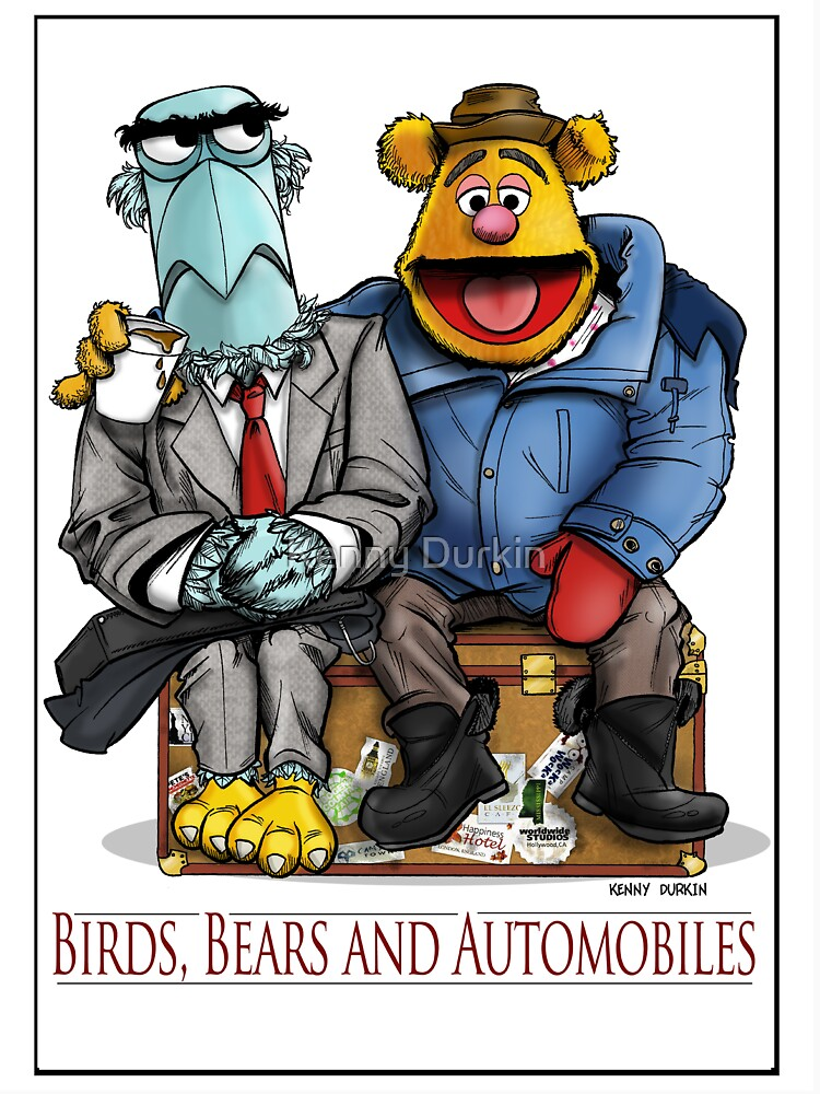 Birds, Bears and Automobiles by Durkinworks