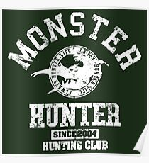 Monster Hunter Hunting Club Poster