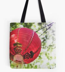 Red Chinese Lantern Tote Bag