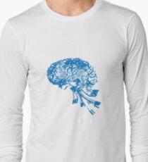 Computer Brain Long Sleeve T-Shirt