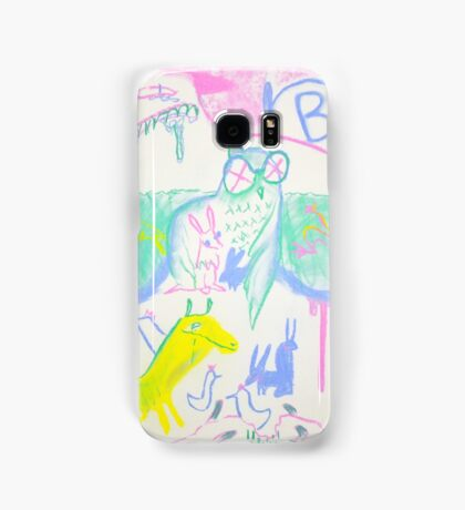 Pastel Roadkill Party with Owl and friends!  THE AFTERPARTY Samsung Galaxy Case/Skin