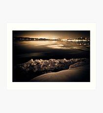 night photgraphy Art Print