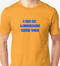 Scott Pilgrim Vs The World - I Am In Lesbians With You T-Shirt