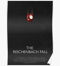 Sherlock - The Reichenbach Fall Poster