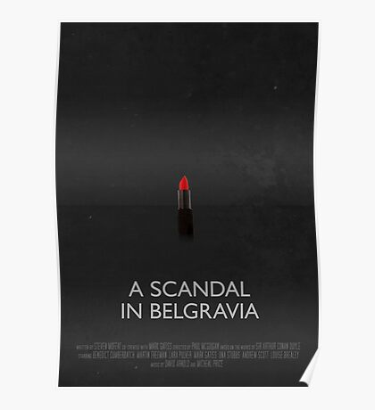 Sherlock - A Scandal In Belgravia Poster