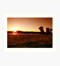 Northern Dusk - Northern Tablelands - NSW Art Print