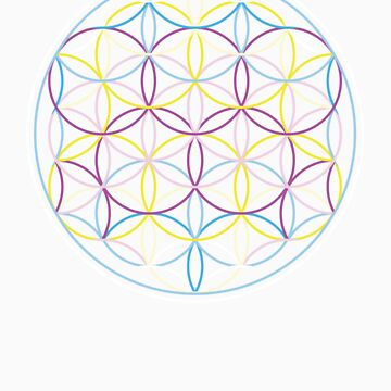 Flower of Life by sparksandburns