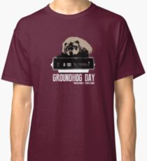 Groundhog Day  Alarm Clock  Punxsutawney Color T-shirt Classic T-Shirt