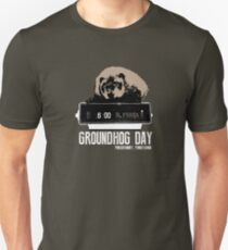 Groundhog Day  Alarm Clock  Punxsutawney Color T-shirt T-Shirt