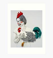 Sleek Gada Art Print