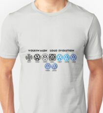 Volkswagen Logo Evolution T-Shirt