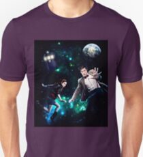 Amy and The Doctor in Space T-Shirt