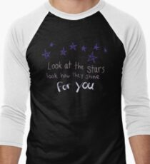 Look How They Shine For You Men's Baseball ¾ T-Shirt