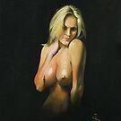 Nude in Oils by Jan Szymczuk