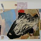 collage in progress by Doreen Connors