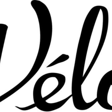 La Velolita (horizontal text logo) by jillycube