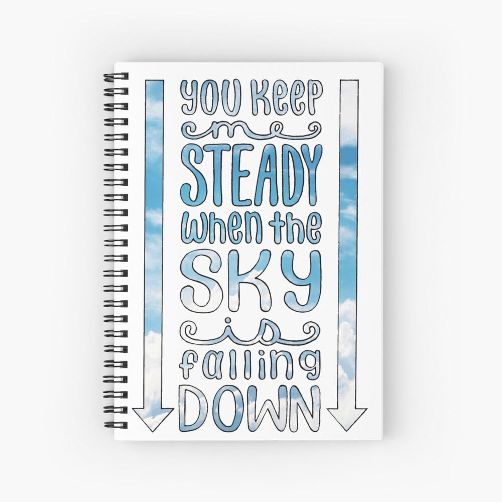 Steady (für King & Country) Songtexte Spiralblock