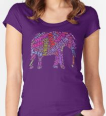 Vegan Elephant Women's Fitted Scoop T-Shirt