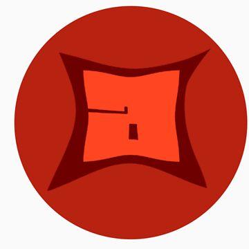 aMorle Design Logo Post Card Print.  by aMorledesign