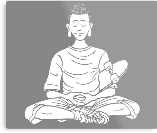 Everyone is Buddha - Skate Tribe by danrop