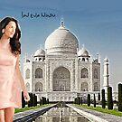 Amal and Taj Mahal by Dulcina