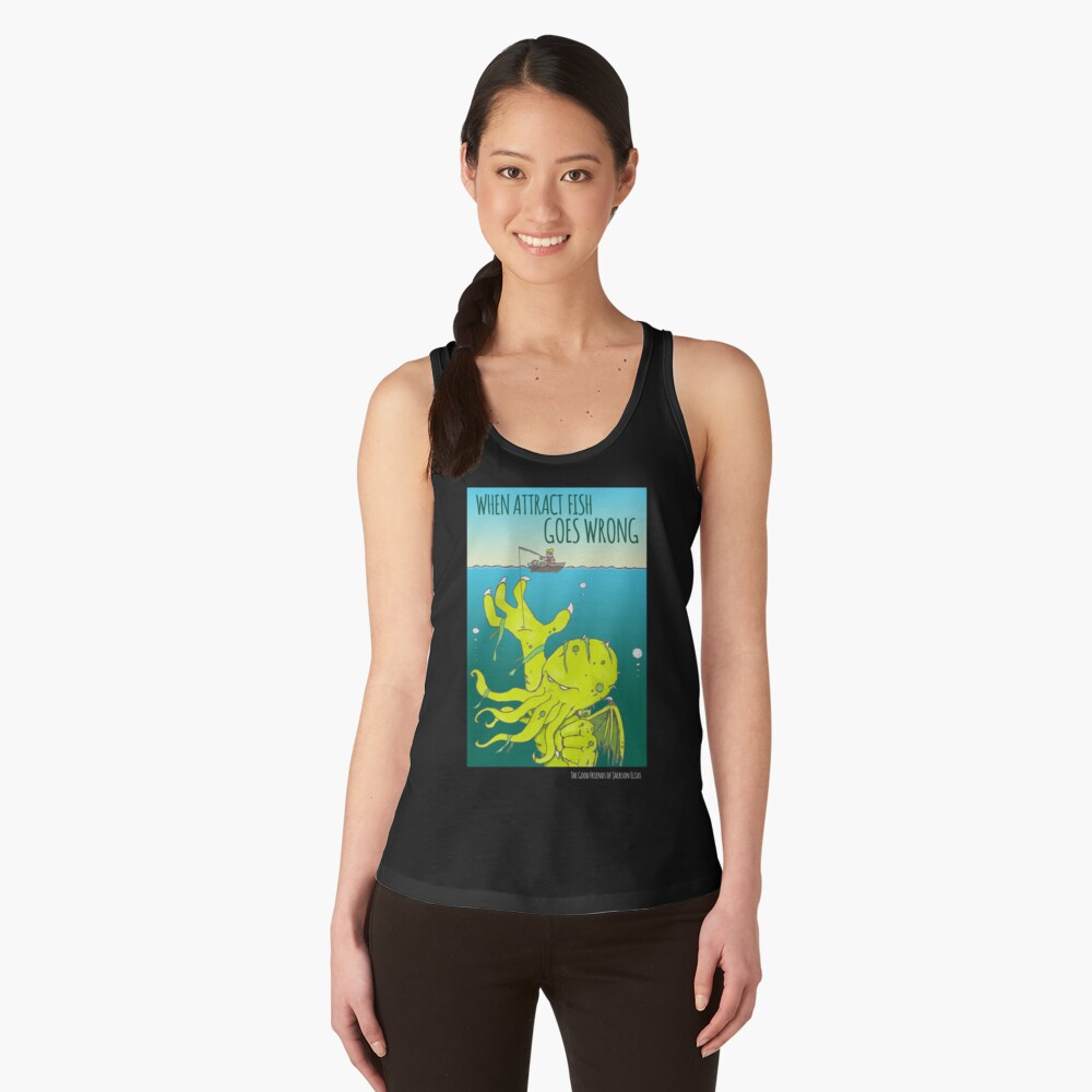 When Attract Fish Goes Wrong (4) Women's Tank Top Front