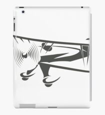 Retro Airplane Emblem  iPad Case/Skin