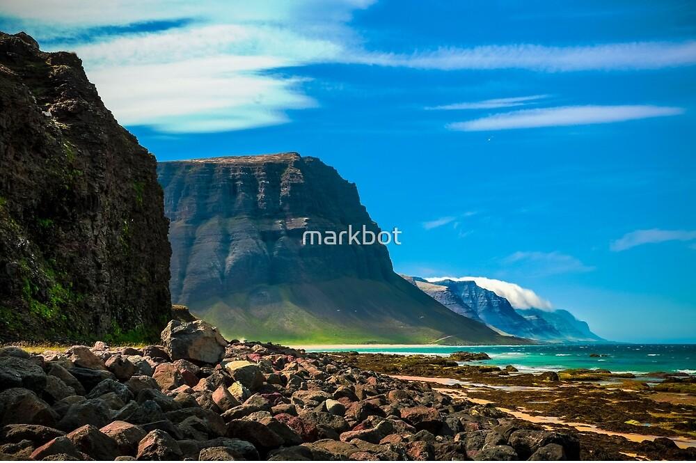 Beach near Bíldudalur by markbot